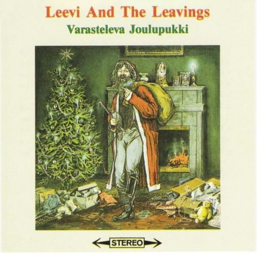 Leevi And The Leavings - Varasteleva joulupukki LP