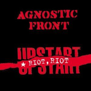 Agnostic Front - Riot, Riot Upstart LP