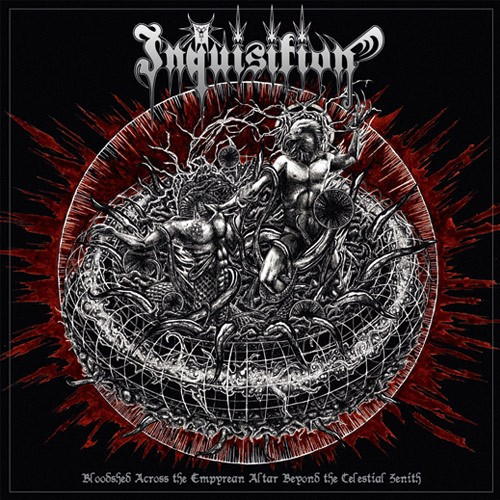 Inquisition ‎- Bloodshed Across The Empyrean Altar Beyond The Celestial Zenith LP