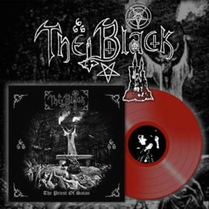 The Black - The Priest Of Satan LP