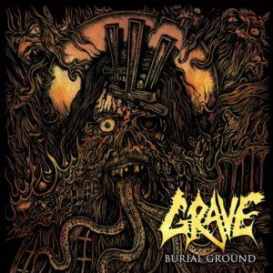 Grave - Burial Ground LP