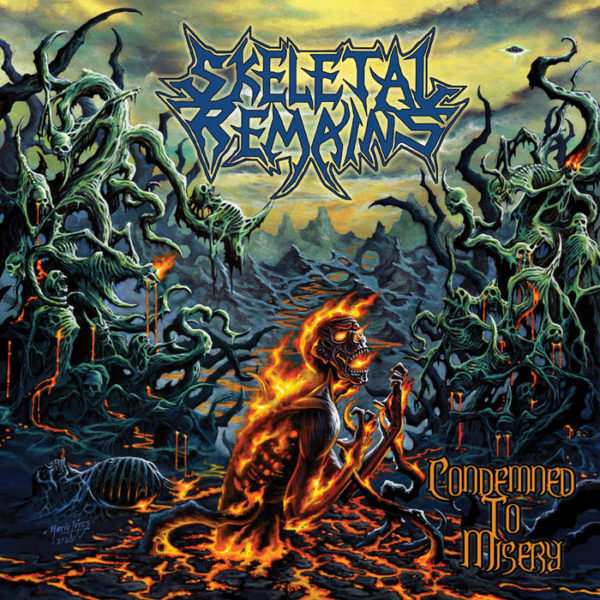 Skeletal Remains - Condemned To Misery LP